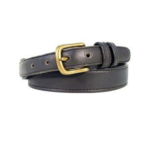 COACH New York Vintage Black Leather Belt